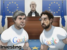 How will the European Union's anti-trust charges against Google affect the company's stock...