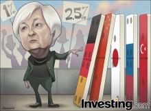 Fed'in kolay para devrinin sona yaklaşıyor olmasıyla piyasalardaki volatilite yükseldi