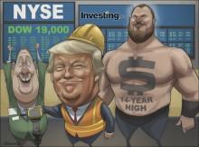 Trump khiến cho đồng Đô la và thị trường chứng khoán tuyệt vời trở lại