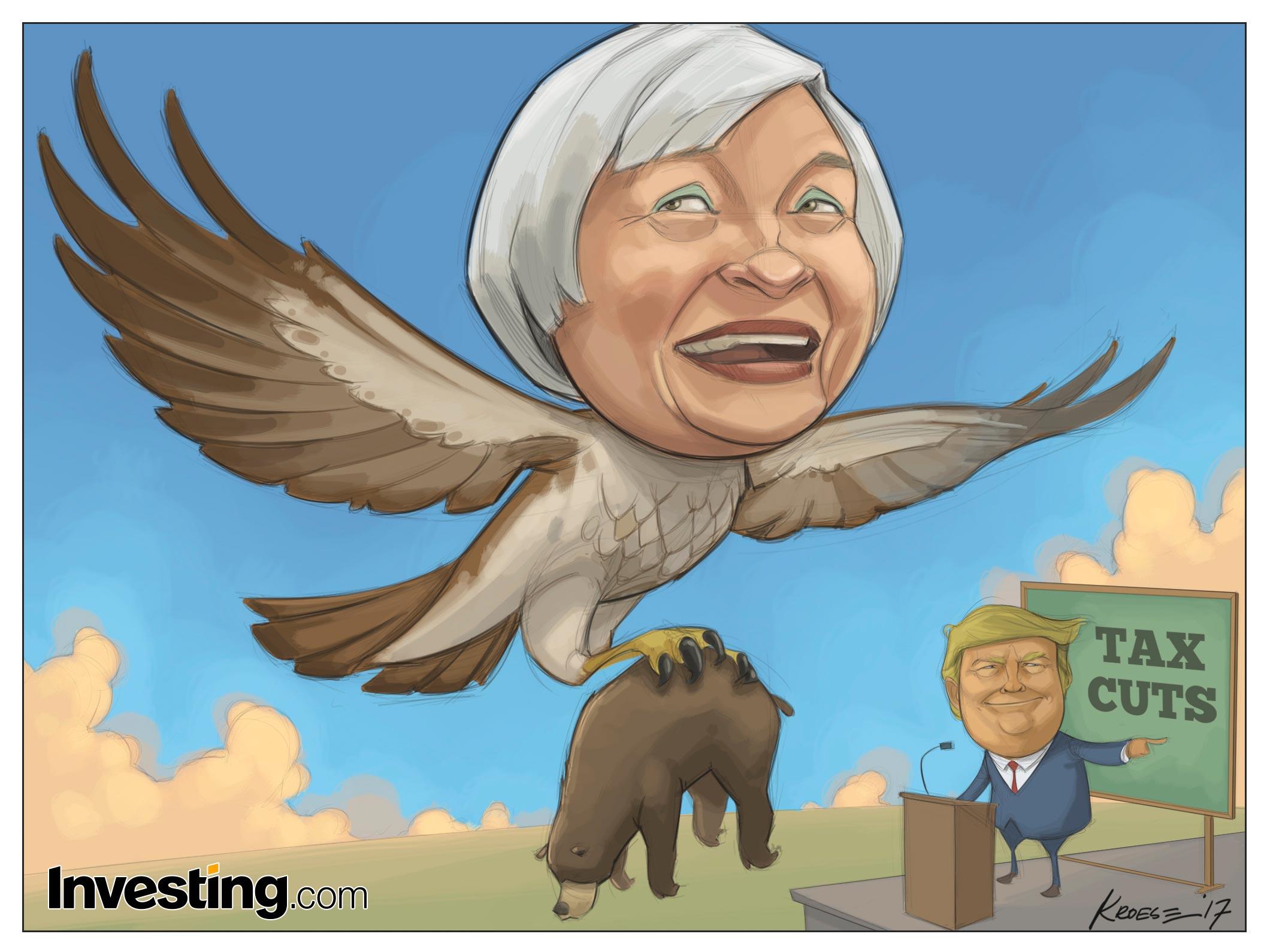 Piyasalar Yellen'ın şahin tutumu ile Trump'ın vergi planını sindiriyor