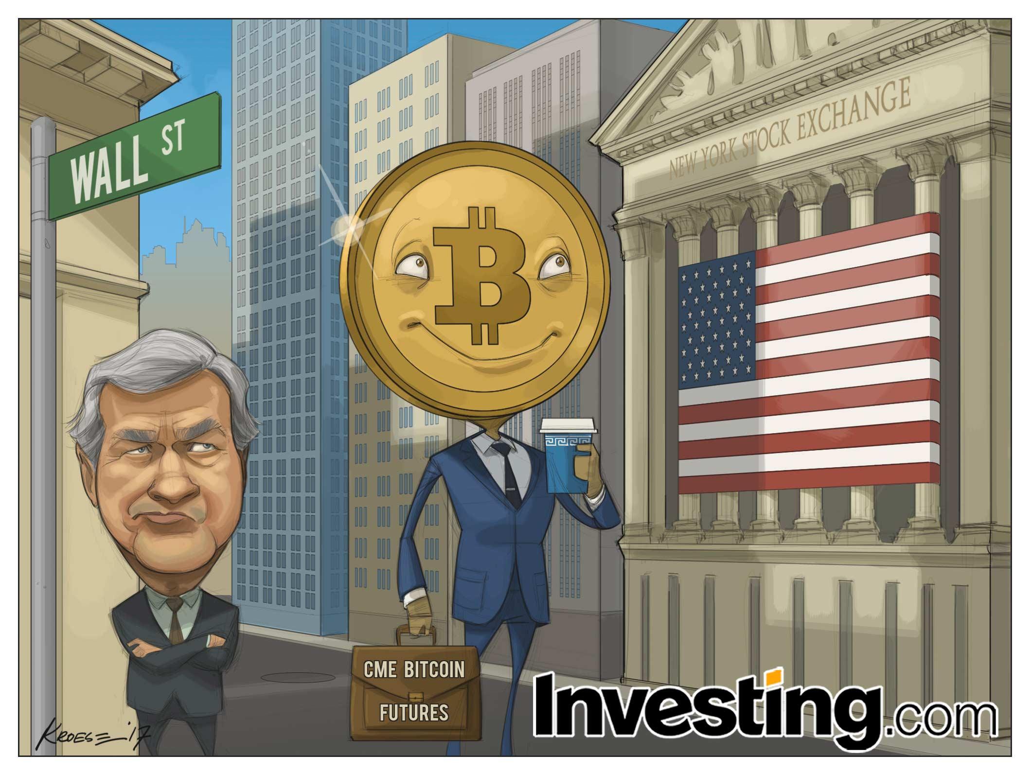Bitcoin en sonunda Wall Street'e vadeli işlem kontratı olarak giriyor