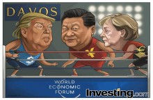 EUA provocam medo de uma guerra comercial com Trump em Davos