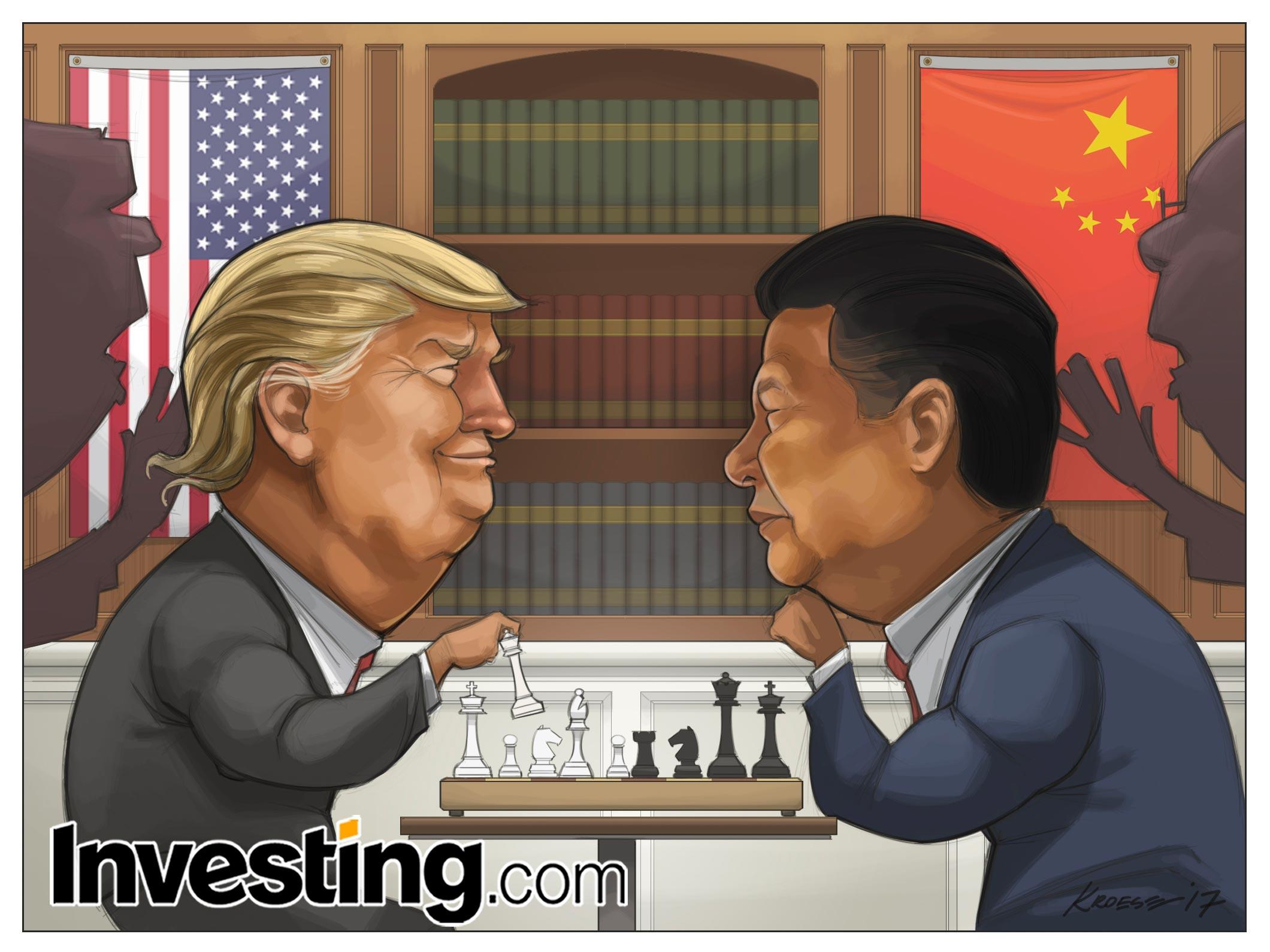 2大国首脳間の心理戦は激しさを増す
