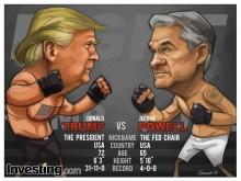 Trump vs Powell – Confronto de gigantes é o principal evento da semana
