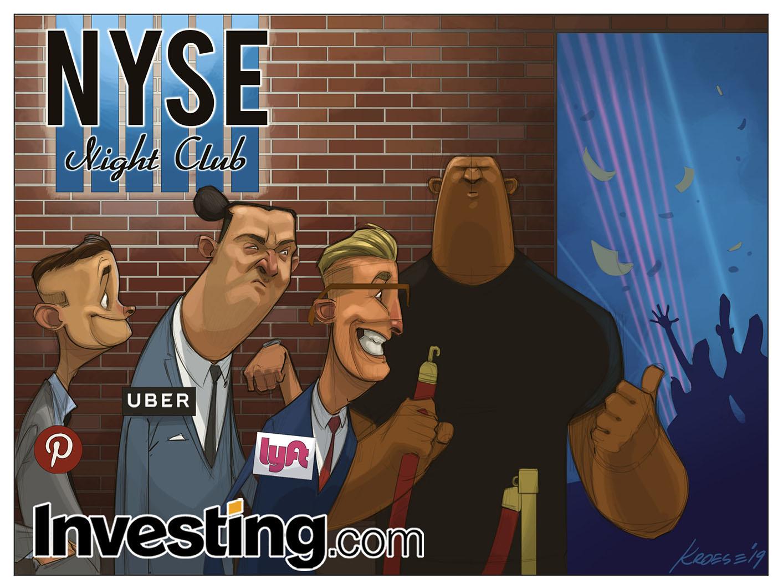 LyftはIPOへ、UberとPinterestが続く