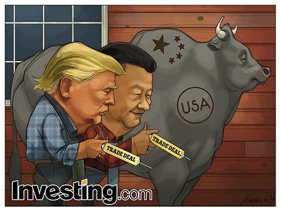 La inyección de optimismo comercial entre Estados Unidos y China lleva a los mercados globales a máximos de 6 meses