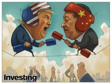 Investors Anxiously Await as Trump and Xi Joust Over Tariffs