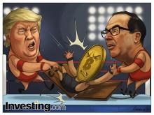 Trump en Mnuchin vormen tag team om korte metten te maken met Bitcoin