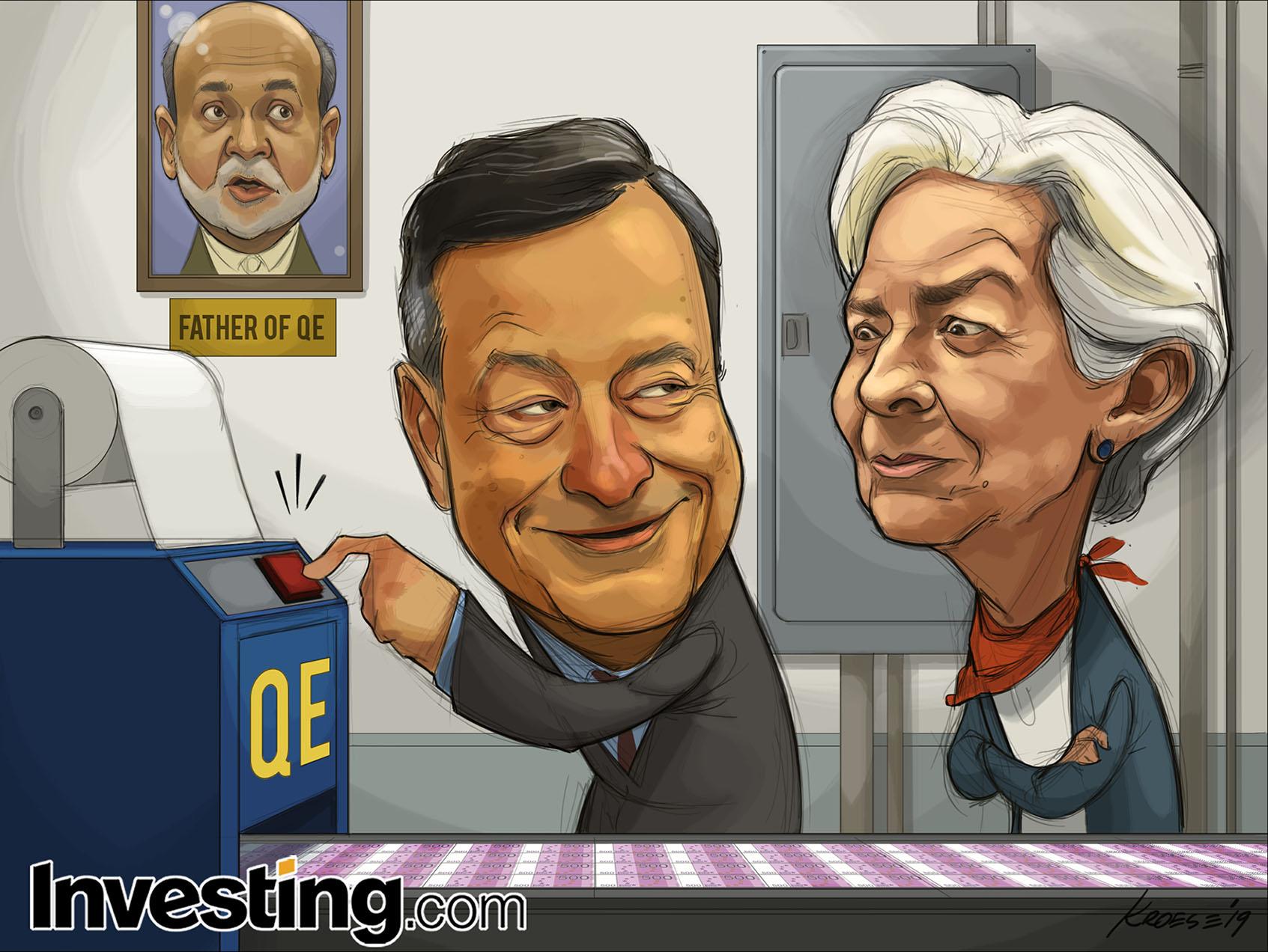 ECB Parasal Teşviki Açığa Çıkarıyor ve Daha Fazla Parasal Genişlemeye İşaret Ediyor