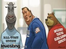Mặc dù có nhiều tin xấu, thị trường vẫn giao dịch gần đạt mức cao kỷ lục