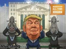 Trump và bò ở chế độ