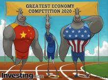 Cuộc đua giữa hai quốc gia vì uy thế kinh tế khi nền kinh tế châu Âu đang gặp khó khăn.