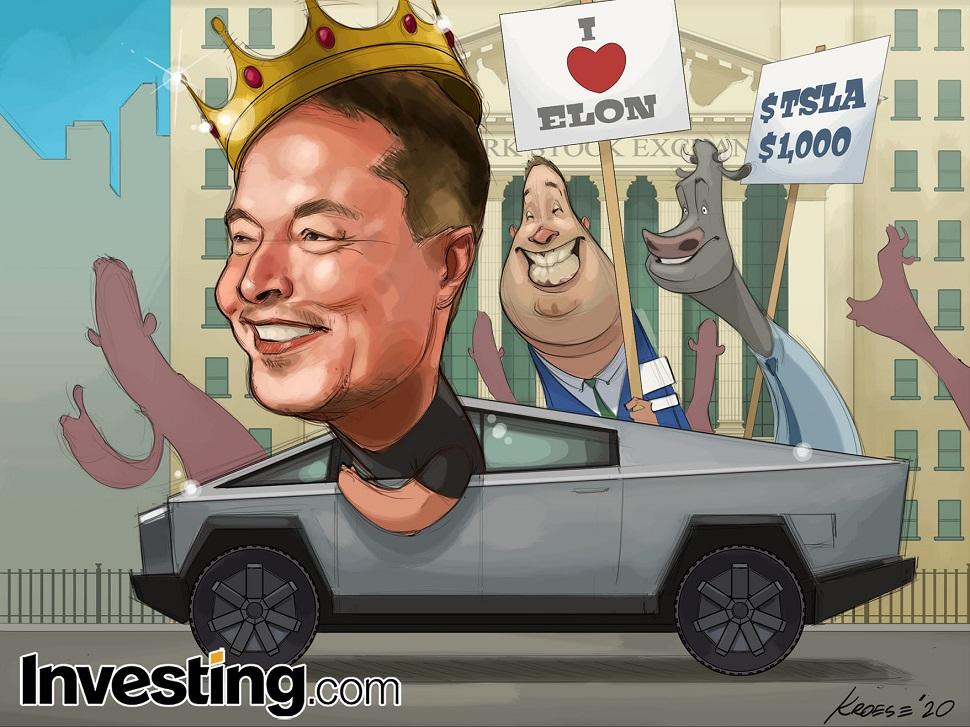 Kral Elon ve Tesla, Wall Street'in En Büyük Hikayesi Olmaya Devam Ediyor