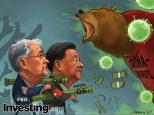 Các thị trường hồi phục khi ngân hàng trung ương giúp bù đắp cho nỗi lo về virus corona