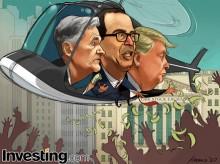 Trump, Fed tung đòn tài khóa, tiền tệ để đối phó với virus Corona