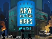 Thị trường chứng khoán tiến về đỉnh cao mọi thời đại khi nhà đầu tư phớt lờ bạo động