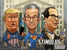 ग्लोबल स्टॉक मार्केट्स ताजा अमेरिकी सरकार और फेड स्टिमुलस होप्स पर रैली शुरू करते हैं