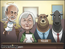 New Federal Reserve Chair Janet Yellen says she will continue with Ben Bernanke's...