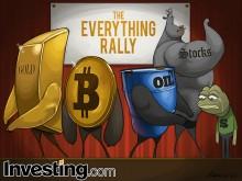 Hisse Senetleri, Altın, Petrol ve Bitcoin 2021'e Yükselişle Başlarken Dolar Düşüşte