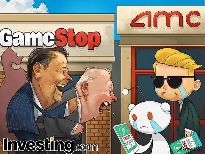 Reddit Meme Stocks Plunge As Trading Frenzy Fizzles