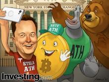 La corrección del Bitcoin y Tesla hace temer el estallido de la burbuja