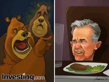 Los osos no están contentos con el presdidente de la Fed, Jerome Powell