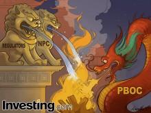 Sofocando el fuego en el mercado chino
