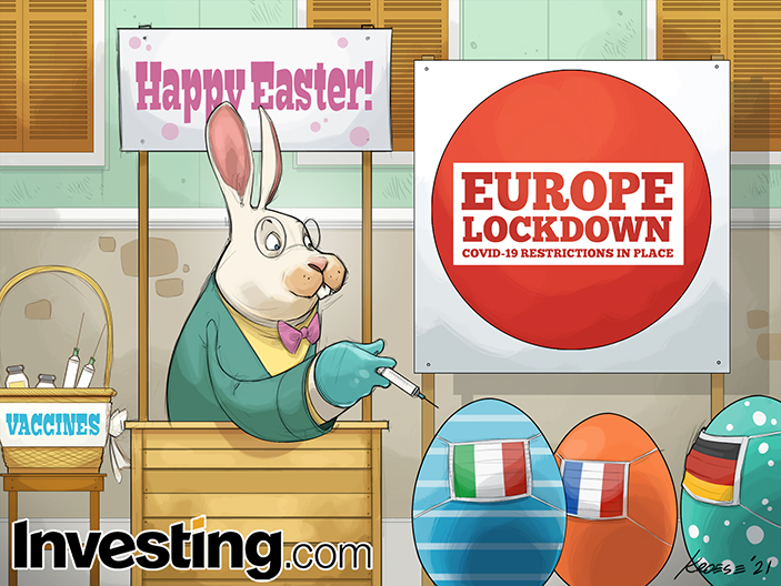 उम्मीद है कि यूरोप के लॉकडाउन में ईस्टर का दिन अच्छा रहेगा