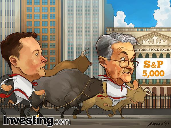 स्टॉक्स नया रिकॉर्ड बनाते हैं जैसे S&P 500 महत्वपूर्ण मकाम हासिल करता है