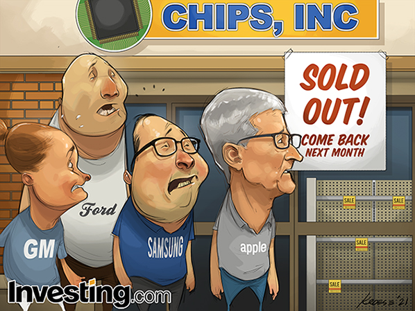 Are global chip shortages affecting the PC industry?