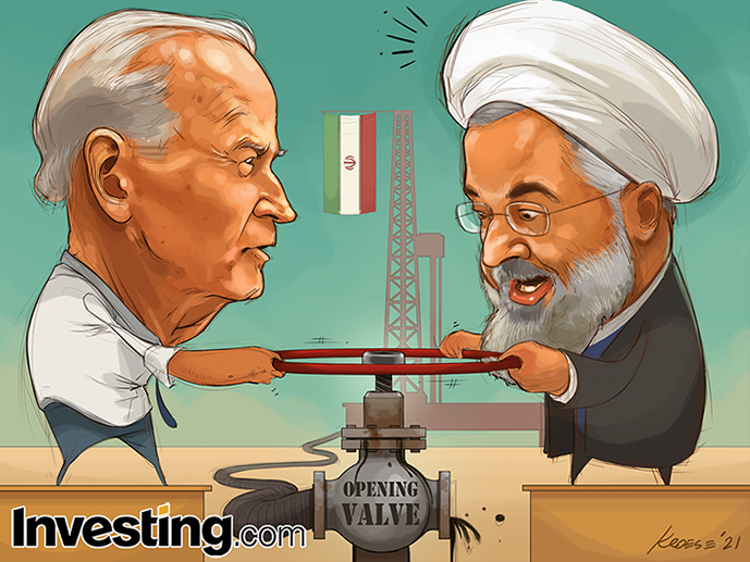 Oil market reacts on the prospects of more oil supply from Iran