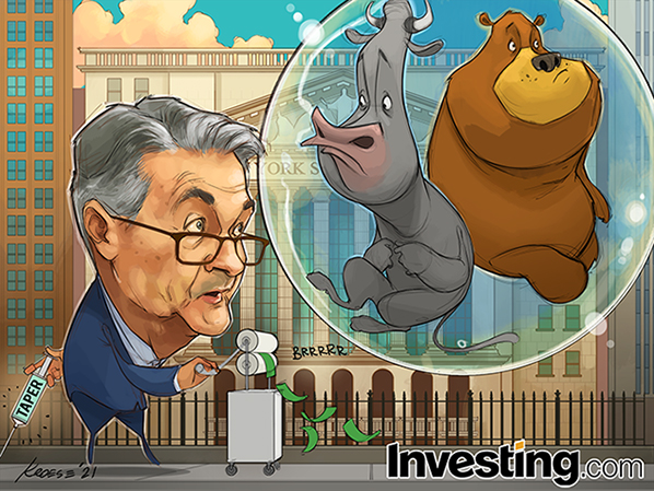 When Will Fed Chair Powell Start Tapering Fed Stimulus?