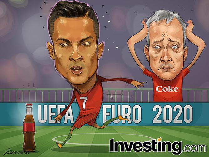यूरो 2020: रोनाल्डो बनाम कोका कोला