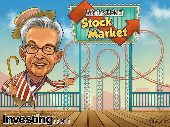 デルタ(インド)株と成長の懸念が再来し、ウォール街は大荒れに