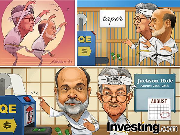 Powell bereidt zich voor op Jackson Hole. Gaat de Fed taperen?
