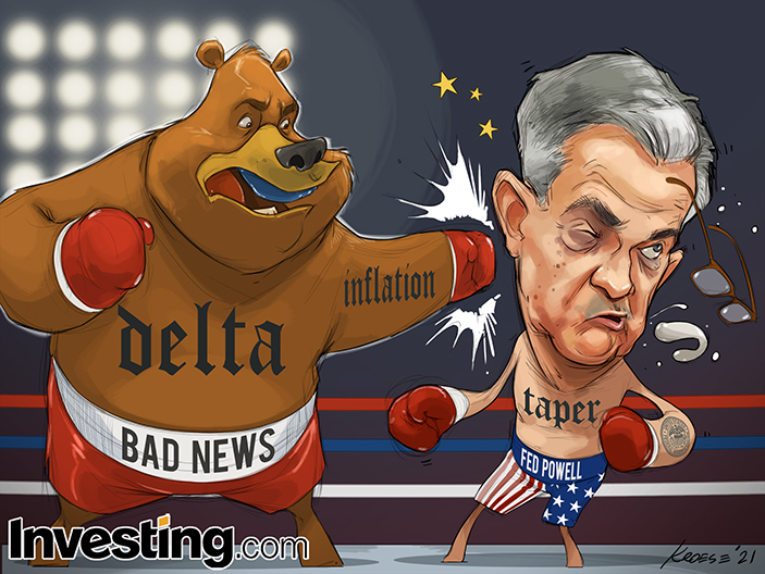 Bad News Threatens To Delay Fed's Taper Plans. What Will Powell Do?