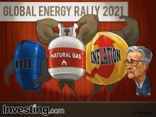Rali da energia alimenta temores de inflação e outubro começa com perdas