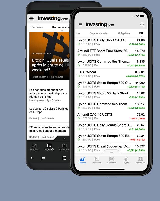 Suivez les marchés N'importe où, n'importe quand!