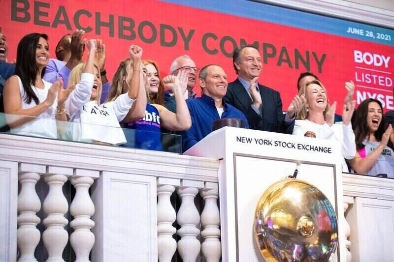 Beachbody Bounces in Trading Debut on At-Home Wellness Boom