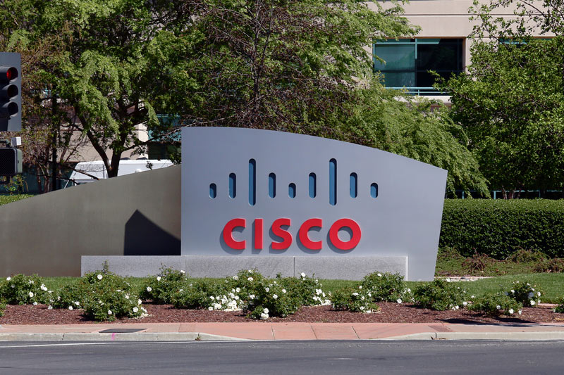 Cisco Stock Rises 4%