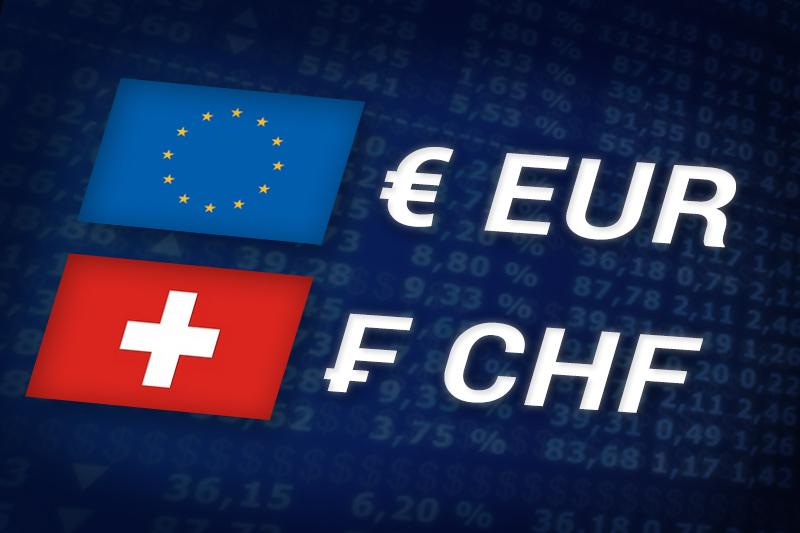 外国為替 - EUR/CHF ヨーロッパのセッション中に 下落