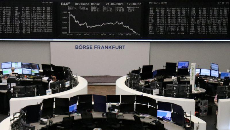 Deutschland Aktien waren tiefer zum Handelsschluss; DAX verlor 1,67%