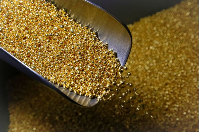 Futuros do ouro em baixa durante a sessão dos Estados Unidos