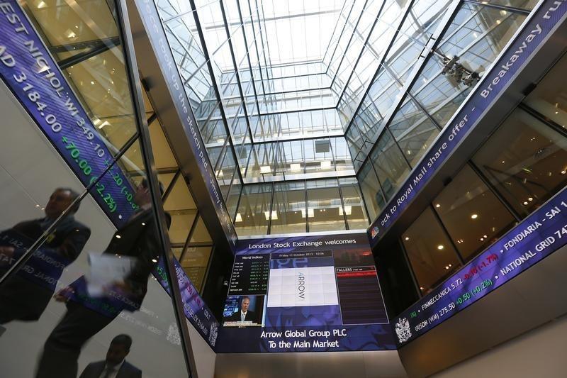 مؤشرات الأسهم في المملكة المتحدة ارتفعت عند نهاية جلسة اليوم؛ Investing.com بريطانيا 100 صعد نحو 0.36%