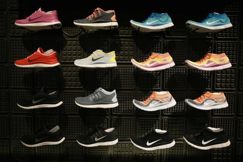 Nike Stock Rises 4%