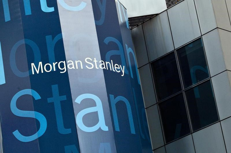 Stocks - Morgan Stanley Hits 20-Mo High in Premarket on Strong Q4