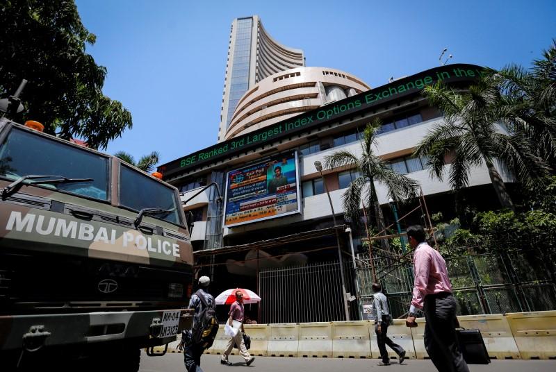 Рынок акций  Индии закрылся падением, Nifty 50 снизился на 0,80%
