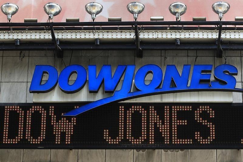 Dow Jones no vermelho