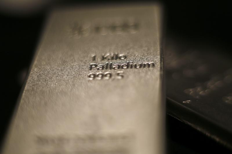 Palladium-Preis weiter auf Talfahrt - Chip-Mangel drückt auf Nachfrage