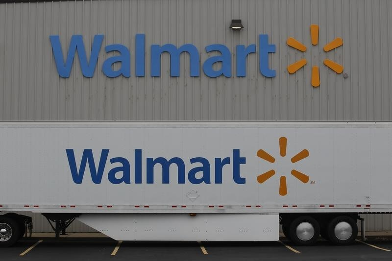 Dow Futures Up 90 Pts as Walmart, Home Depot Report Blowout Earnings